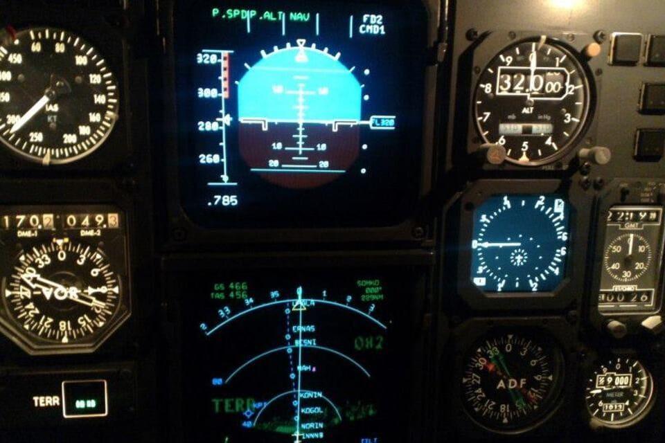 Instrument de bord altimètre inclinaison Certificat ATPL avion 062 radionavigation formation pilote de ligne - Organisme formation 100 KSA