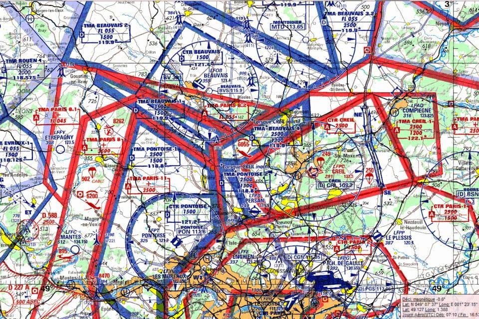 Plan navigation arienne 70 procédures opérationnelles formation pilote de ligne à distance par Visio conférence zoom