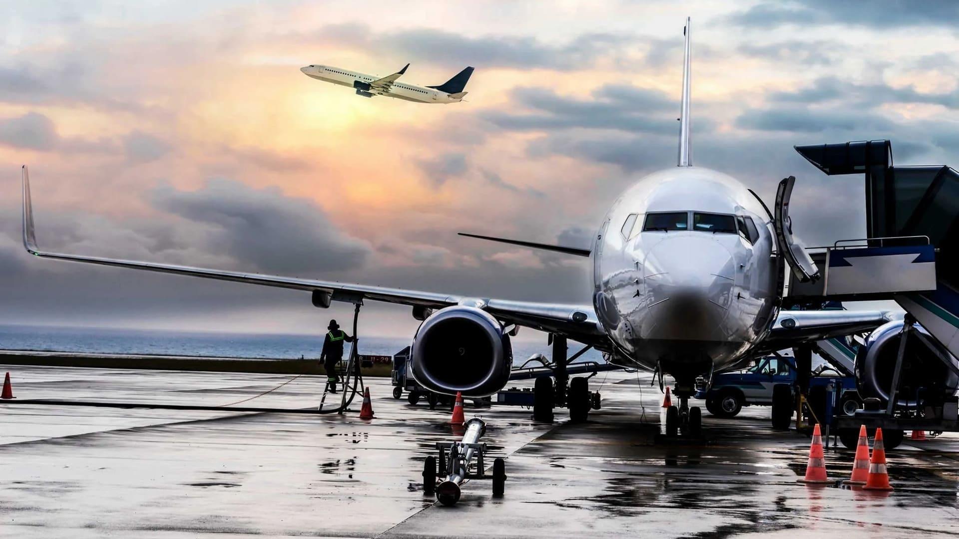 Avion en ravitaillement au sol maitrise des process de sécurité formation à distance ATPL théorique avion