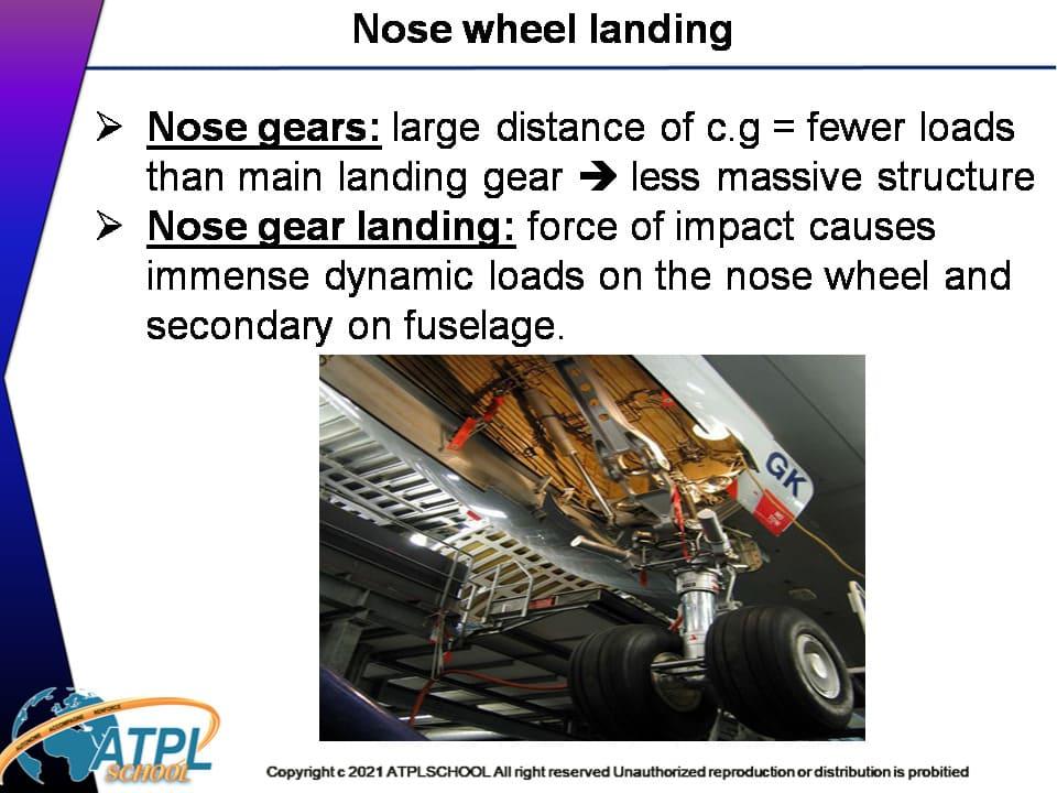 Certificat ATPL théorique avion 021 moteur réactions atplschool formation connaissance des aéronefs train atterrissage
