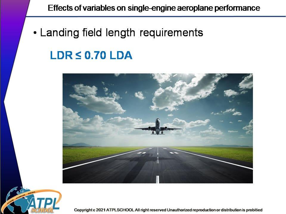 Certificat ATPL théorique avion 032 performance avion formation atplschool pilote de ligne Ecole approuvée EASA
