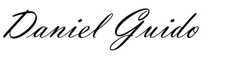 Signature de Daniel GUIDO fondateur de Ecole de formation ATPL théorique pilotage professionnel Atplschool