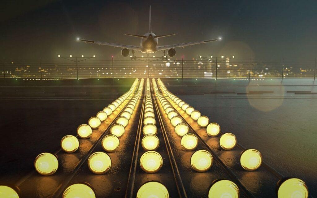 Ecole de pilotage professionnel - atterrissage piste de nuit avion atplschool module ATPL théorique procédures opérationnelles