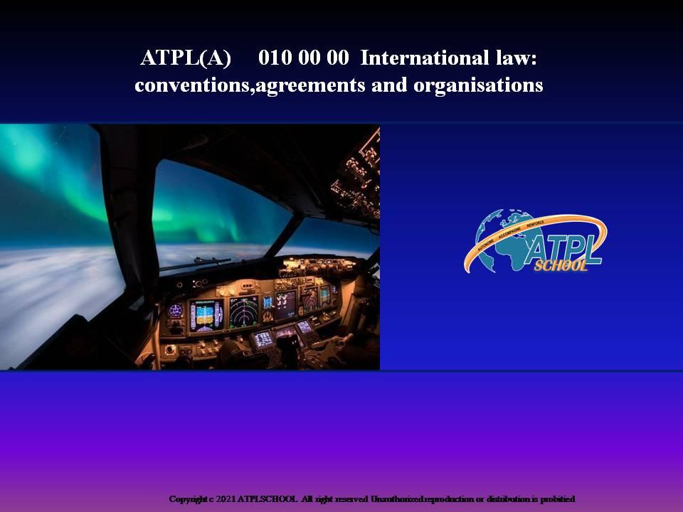 Certificats pilote de ligne ATPL théorique avion 010 droit aérien circulation Atplchool Ecole de pilotage professionnel approuvée EASA