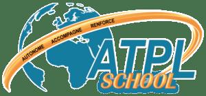 Ecole de pilotage professionnel logo atplschool formation ATPL théorique pilote de ligne