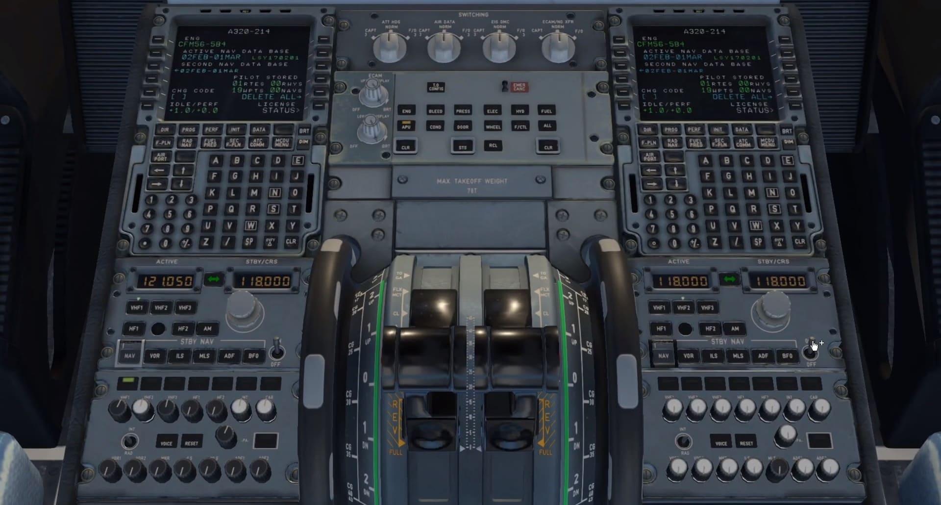 formation certificat ATPL théorique avion appareillage de commande à bord cockpit