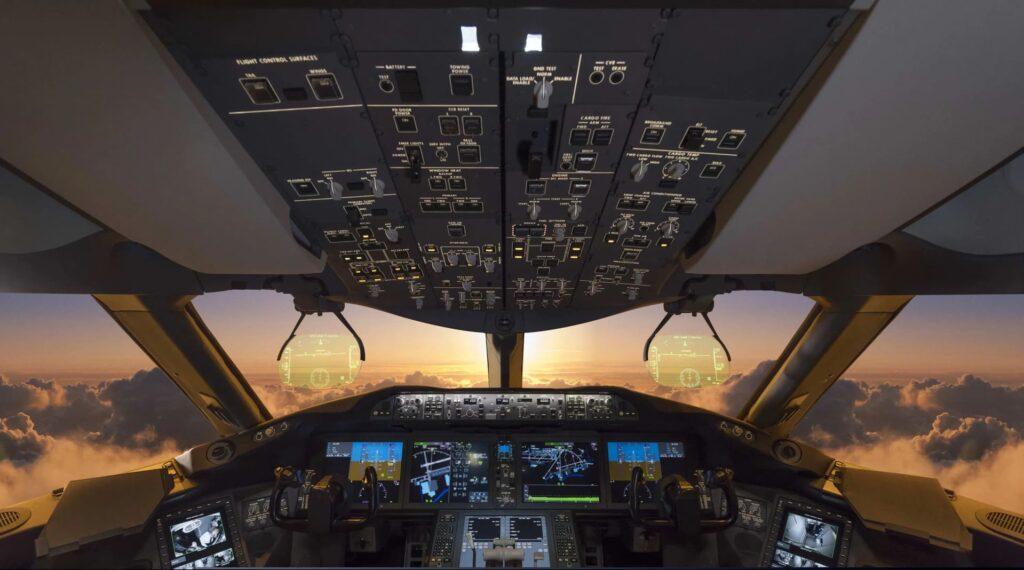 formation atpl théorique avion de ligne cockpit instruments de navigation